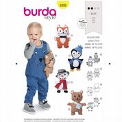 6395 Burda Pattern: Cuddly Toys